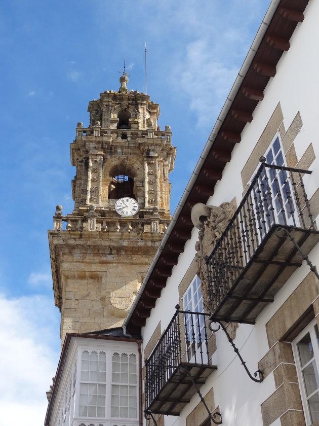De kerktoren van Mondonedo