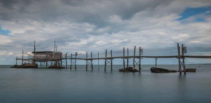 'houten vissershutjes'