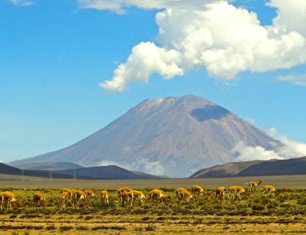 De vulkaan Misti
