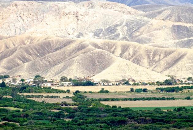 Mooi woestijn landschap.