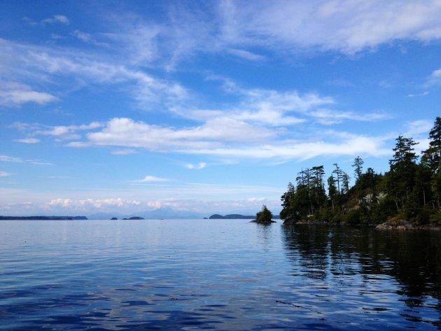 De rust van Vancouver Island