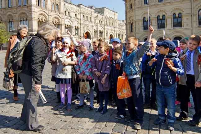 Leergierig bij het Kremlin