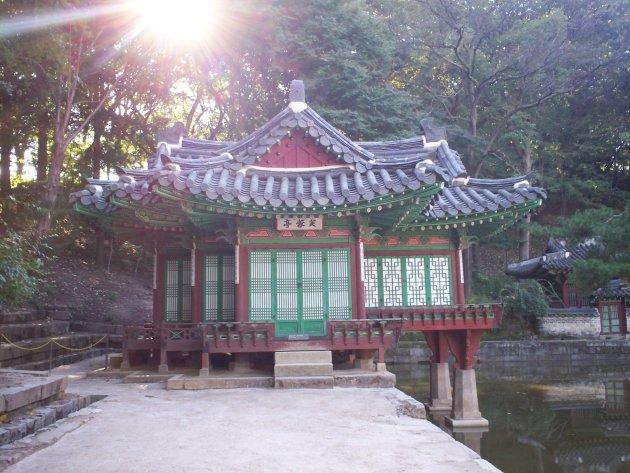 Traditionele bouwstijl van Korea