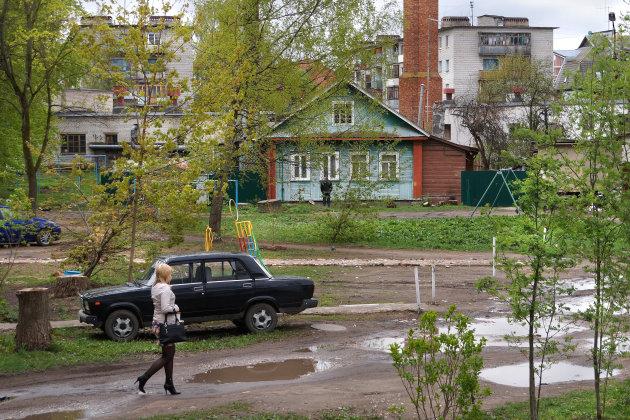 Het gewone leven in Novgorod
