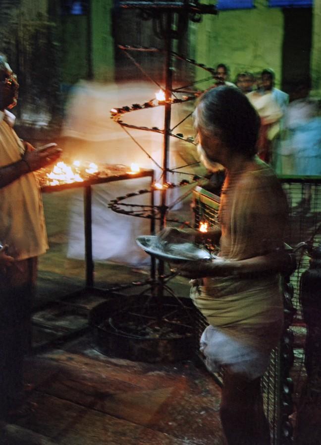 Ceremonie voor Shiva en Meenakshi