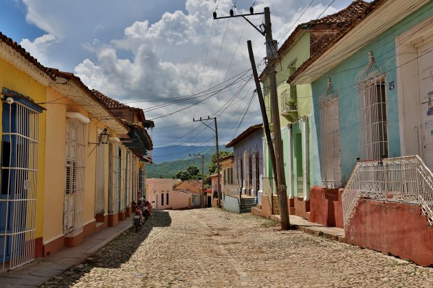 Vrolijke kleurtjes in tranquilo Trinidad