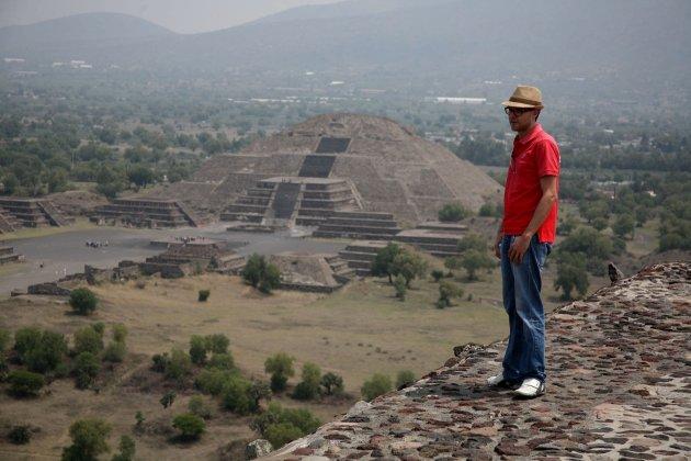 Pirámide del Sol, Teotihuacan, San Juan Teotihuacán, Estado de México, México