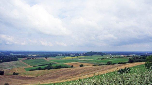 Frans heuvellandschap