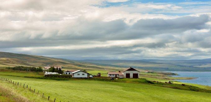 wolkenluchten in IJsland