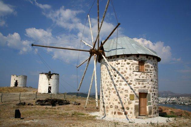 Windmolens van Bodrum