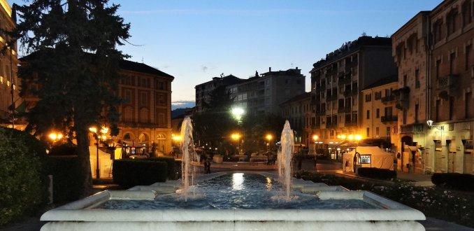 Piazza Italia in Acqui Terme