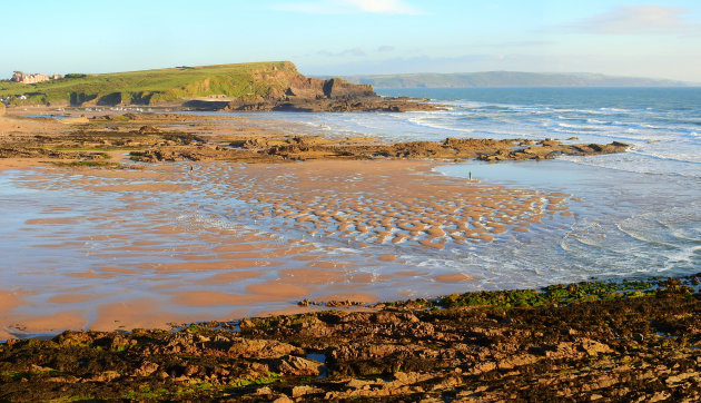 Crooklets Beach in Cornwall.