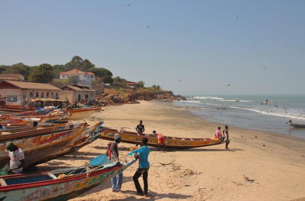 vissers bij Bakau