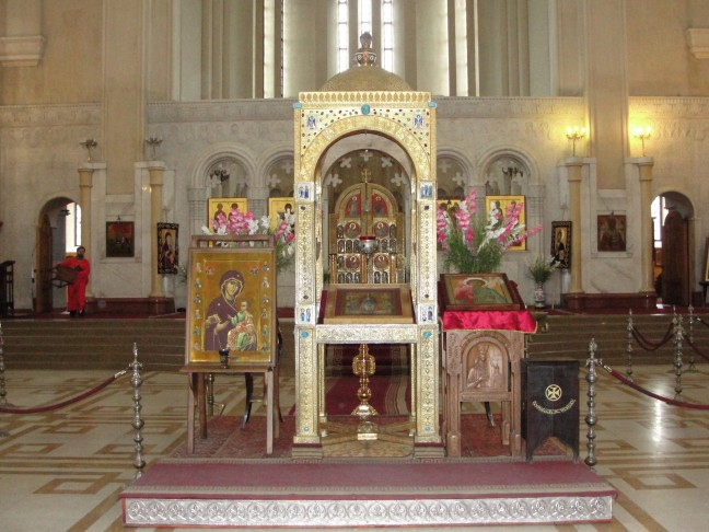 Interieur van de Sameba kathedraal