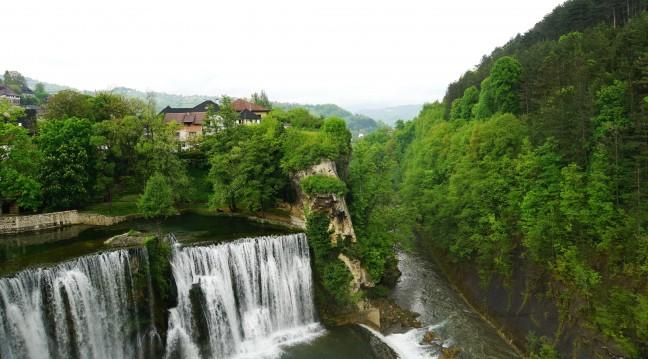 Vodopad waterval