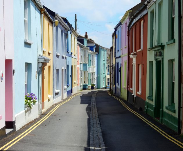 Colours in Appledore.