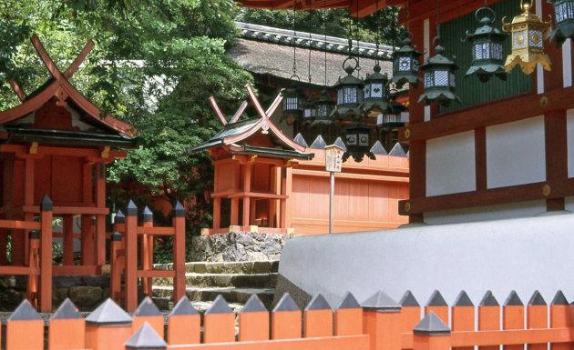 Shinto tempel in Nara