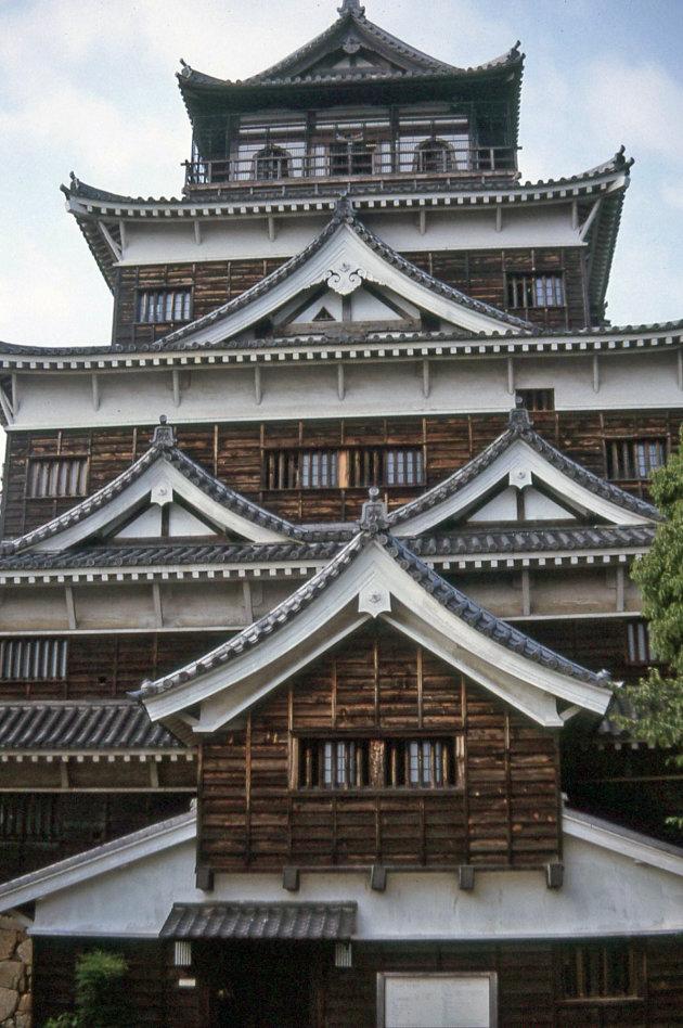Kasteel in Hiroshima