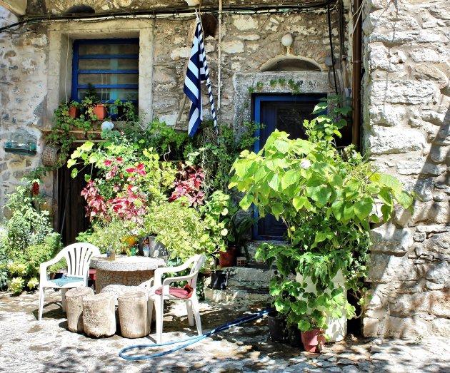 Brand treft Chios