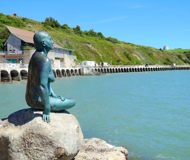 The mermaid of Folkestone.