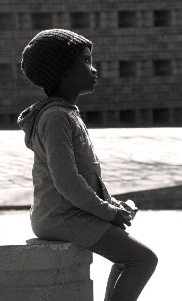 Meisje in Soweto