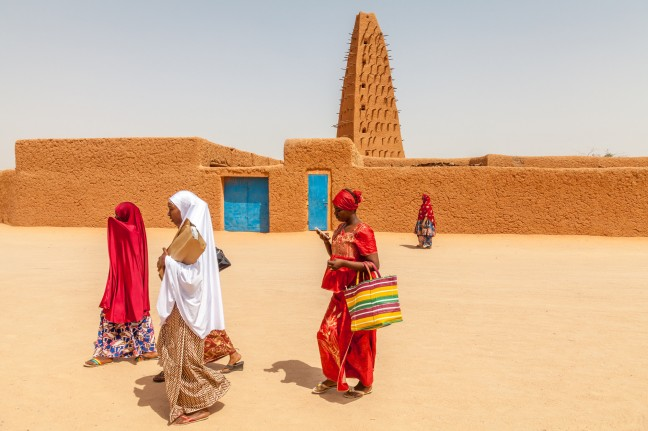 De Grote Moskee van Agadez