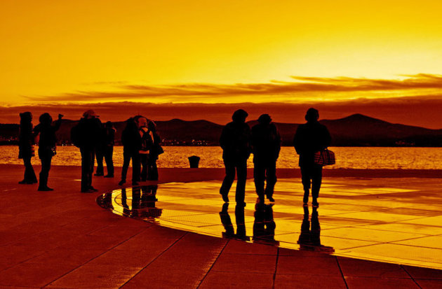 Greetings to the Sun in Zadar