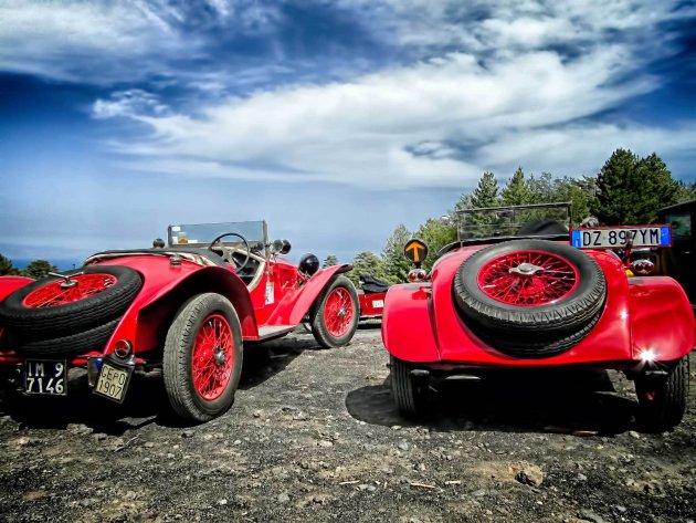 oldtimerdag op de Etna