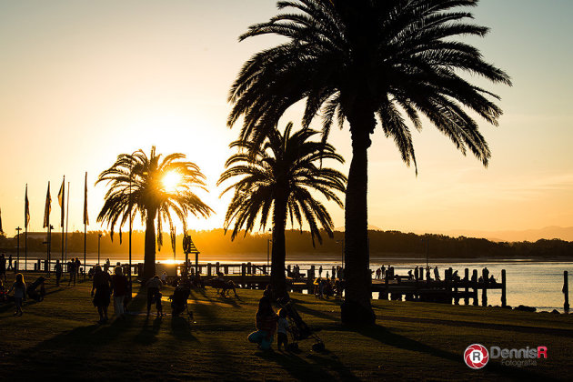 Zons ondergang Port Macquarie
