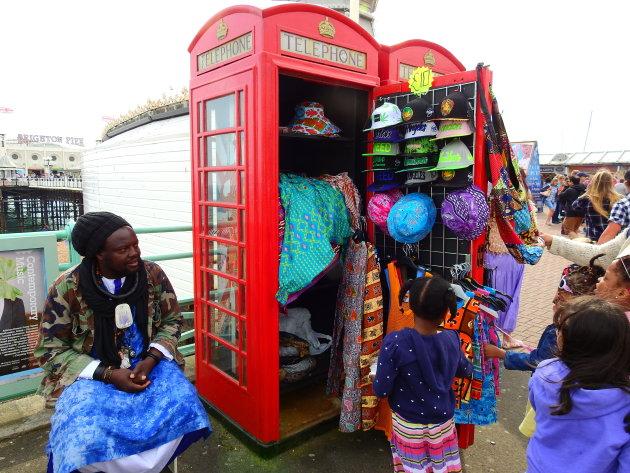 Telefooncel-winkeltje.