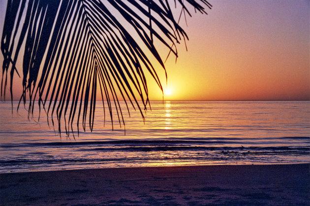 Zonsondergang Gambia