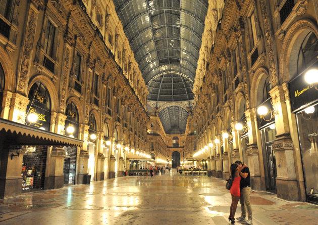 Romance in Milaan