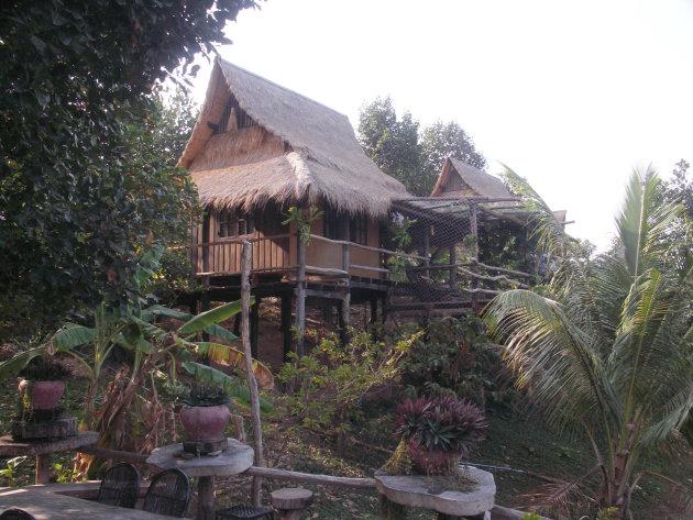Veranda Bungalow Kep-Cambodja