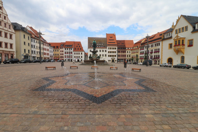 Obermarkt van Freiberg