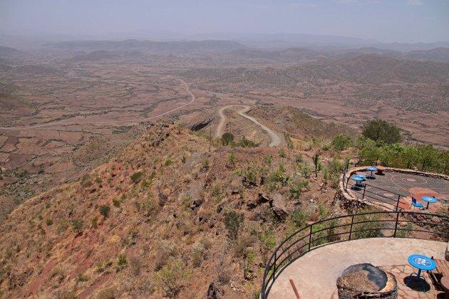 Uitzicht Ben Abeba restaurant