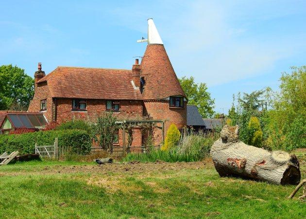 Oast house in Kent.