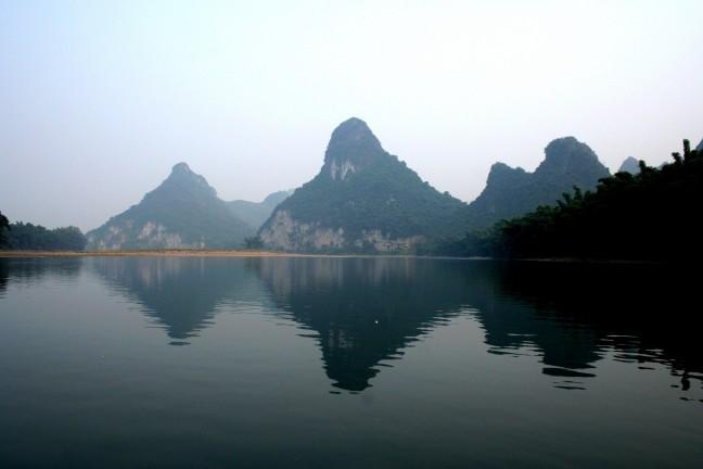 Karstgebergte bij Yangshuo