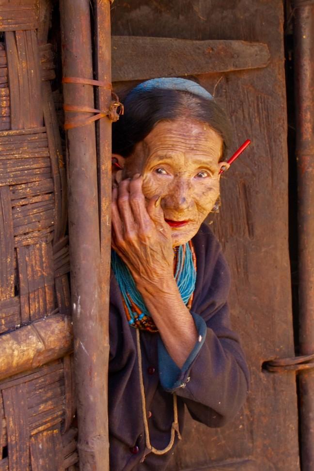 Konyak vrouw
