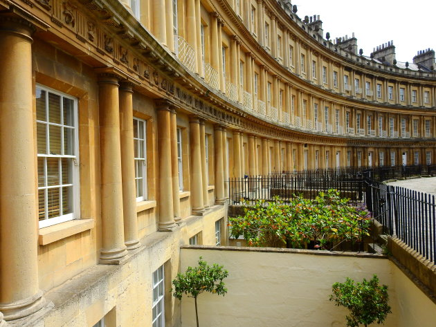 Gevelgalerij in Bath.