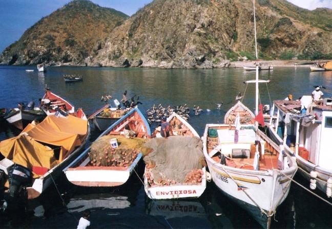 bootjes op een rij