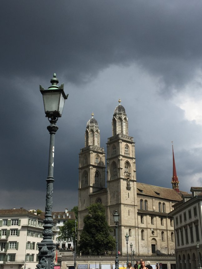 Zurich, Grossmunster kerk