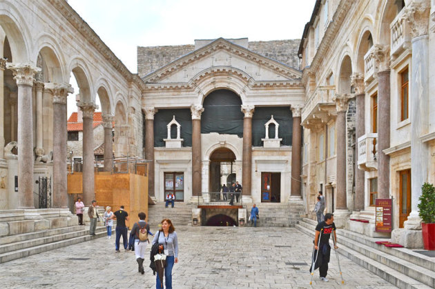 Het oude centrum van Split