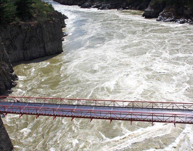 Brug over de Fraser River