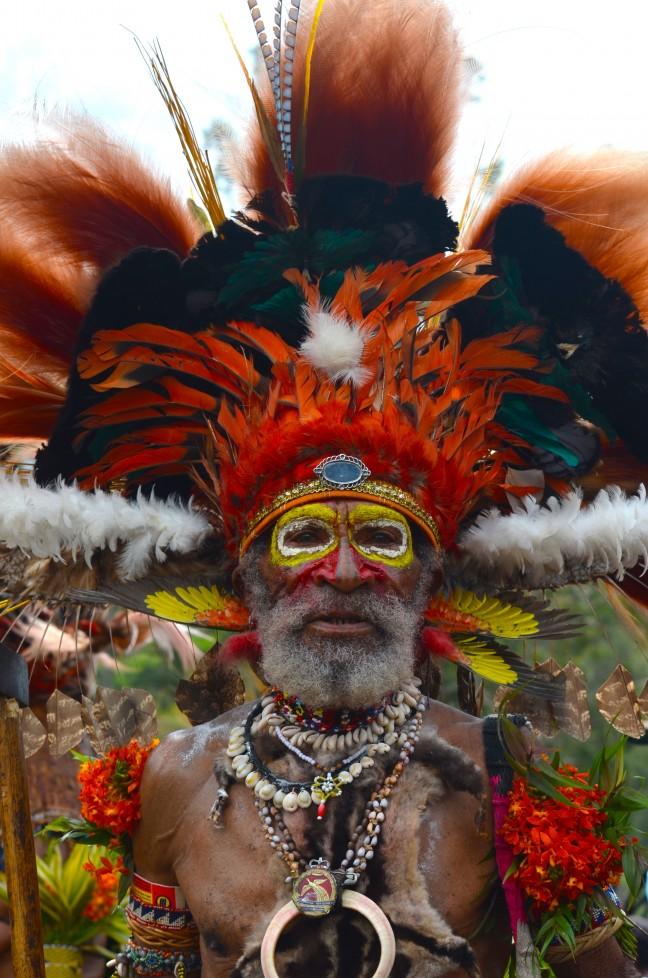 Jiwaka festival Papua New Guinea