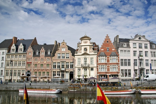 mooie gevels in Gent