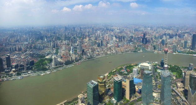Shanghai Tower's Uitzicht