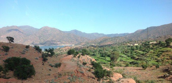 Afwisselend landschap