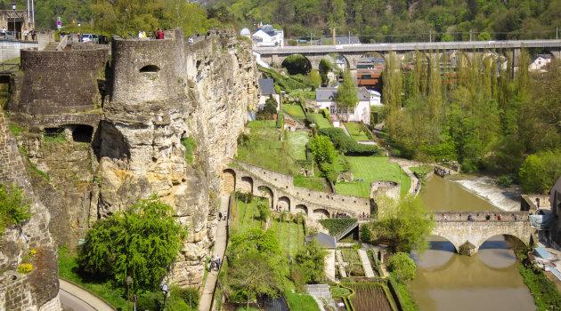 De stad Luxemburg