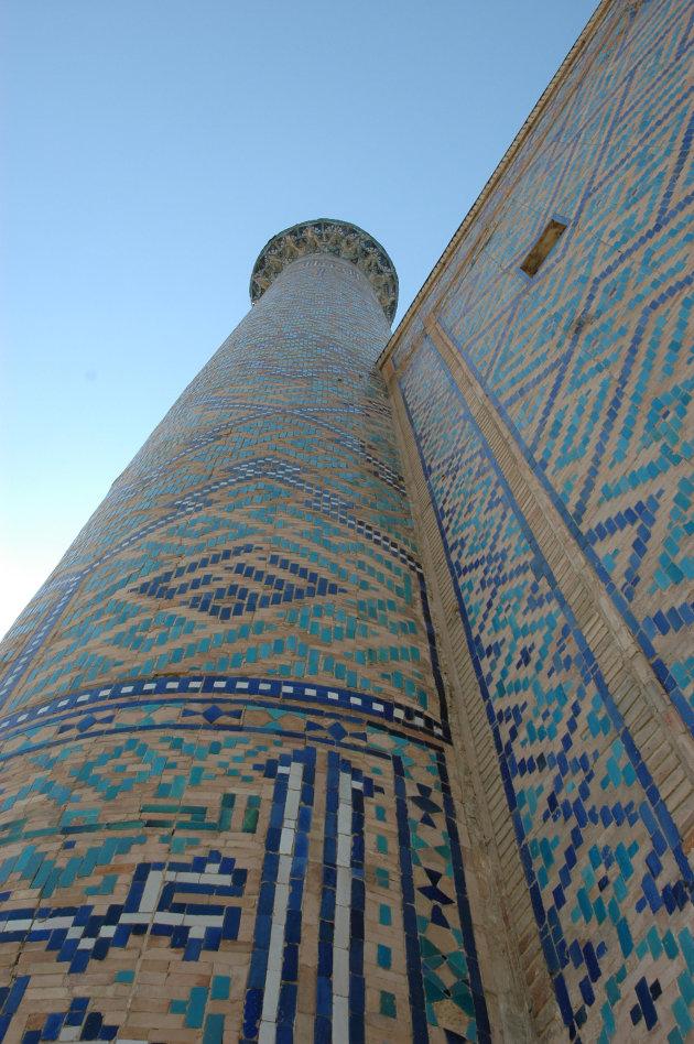 Minaret Registan in Samarkand