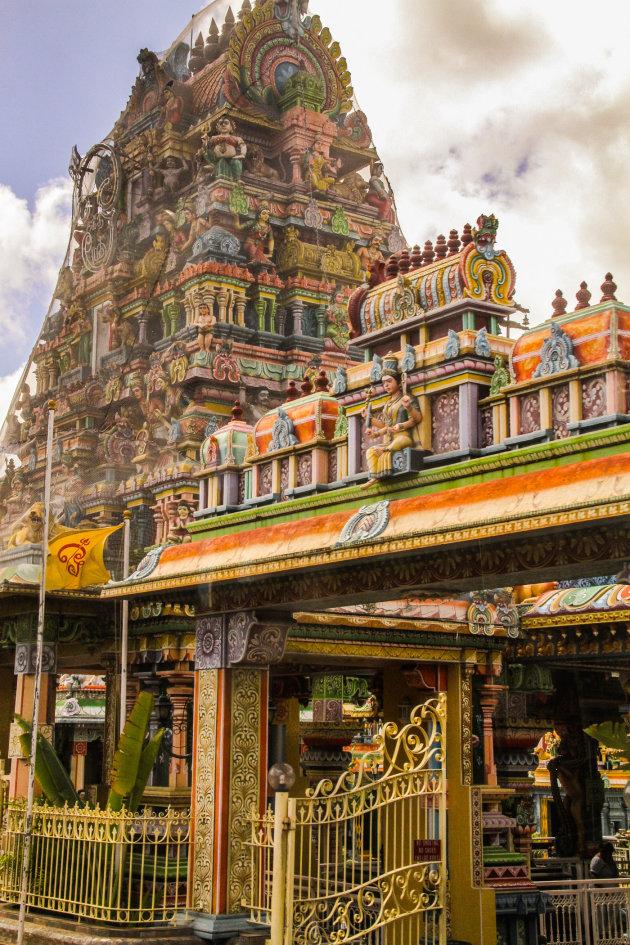 Tempel op Mauritius